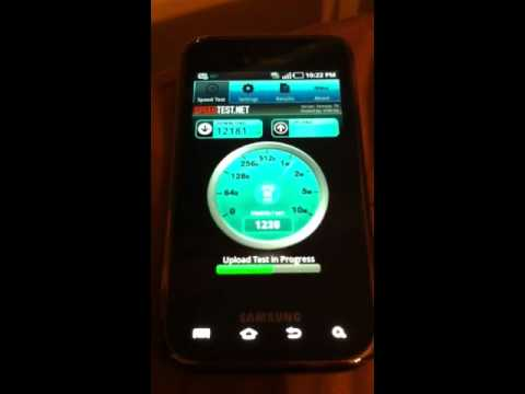 T-mobile Speed Test 4G