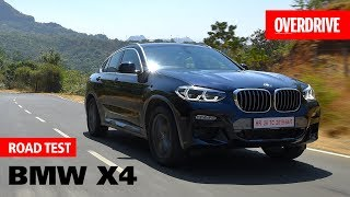 2019 BMW X4 | Road Test | OVERDRIVE