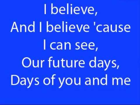 Pearl Jam-Future days lyrics