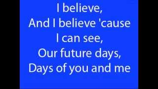 Pearl Jam-Future days lyrics