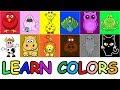 Learn Colors Animals Puzzle Blocks Game for Kids | Rompecabezas de Animales Para Niños