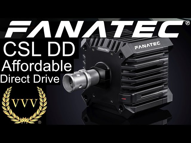 Fanatec CSL DD - Announcement Trailer and Chat