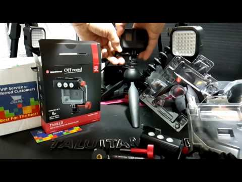 TaluiTamtawan's live broadcast : Unbox Review Manfrotto Offroad ThrilLED