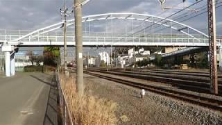 JR貨物・EH500形今話題の村岡新駅予定地通過(Japan Freight Railway)