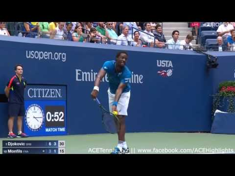 Novak Djokovic vs Kyle Edmund Highlights US OPEN 2016 Round 4 HD720p50 by ACE