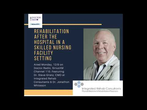 Rehabilitation After The Hospital In A Skilled Nursing Facility (SNF); What Patients Should Know