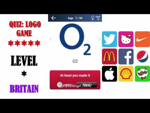 Quiz: Logo Game Britain - All Answers - Walkthrough ( By Lemmings at work )