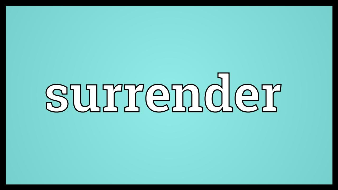Surrender At 21