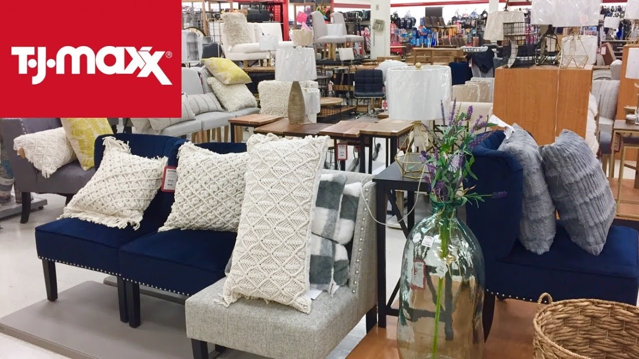 TJ MAXX FURNITURE CHAIRS TABLES HOME DECOR SPRING 9 SHOP WITH ME  SHOPPING STORE WALK THROUGH 9K