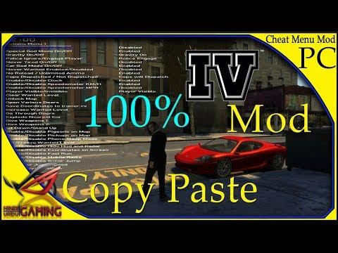 How To install Cheat Menu Mod in GTA 4 || Hindi Urdu