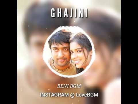 Ghajini Surya seeing Asin at first time BGM