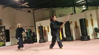 Yang Tai Qi Broadsword - Nancy Fritsch & Cida Lucas