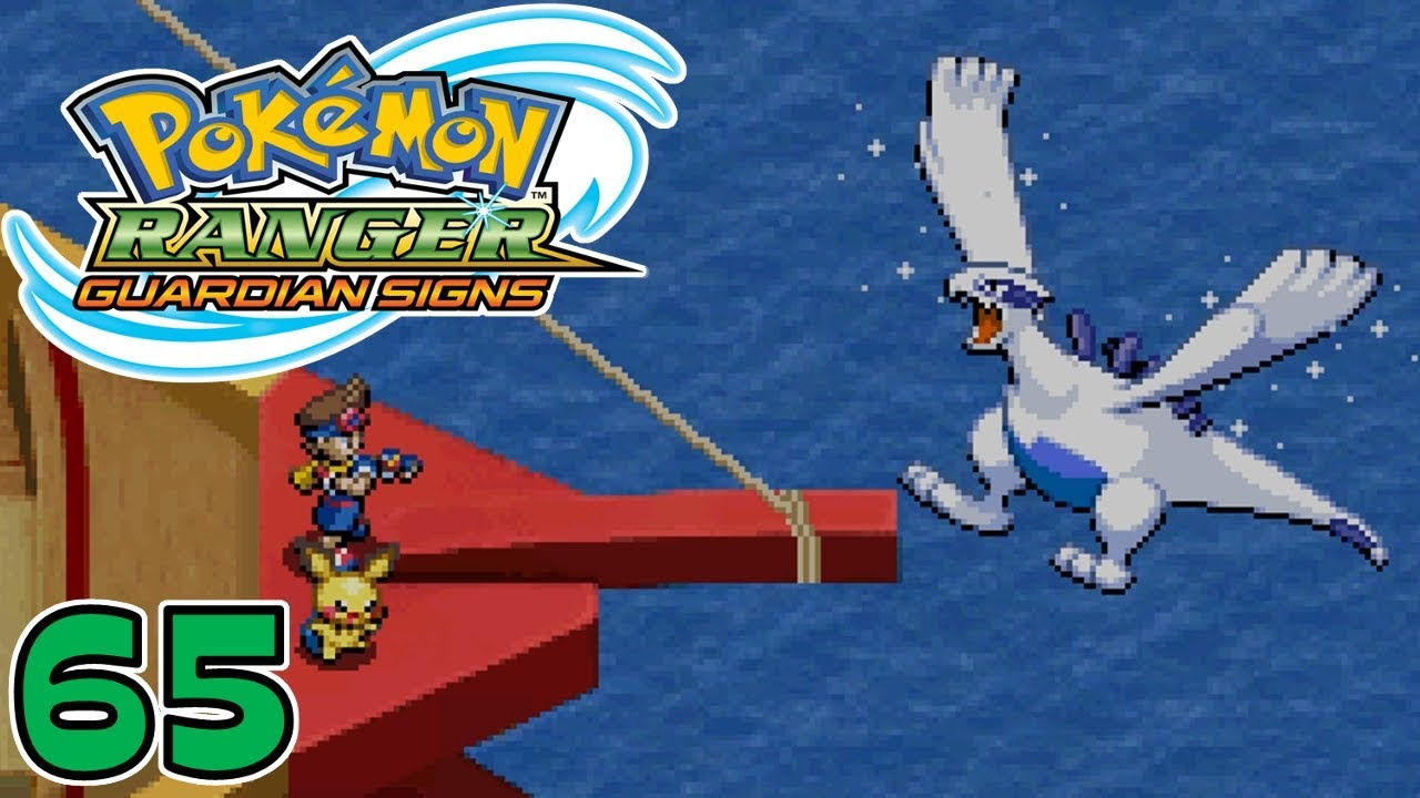 Pokemon Ranger Guardian Signs | Part 65 - The Final Mission and Capturing Lugia