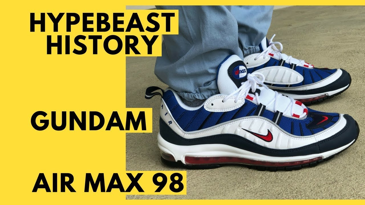 best website 4aef3 75377 Air Max 98 Gundam History, Unboxing, Review, On Feet, and Sizing and Fit