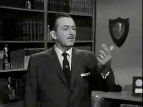 Walt Disney and Tinkerbell