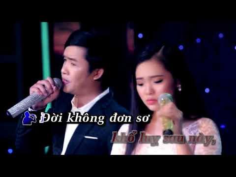 Karaoke LK Bạc Trắng Lửa Hồng & Anh Hãy Về Đi   Thiên Quang ft Quỳnh Trang