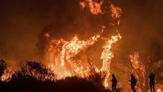 Wildfires Rip Through Southern California