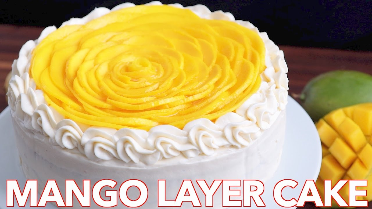Mango Cake Recipe Video Natashaskitchen Com