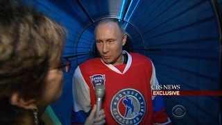 Before amateur hockey game, Putin reacts to Comey's firing