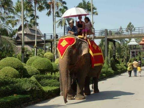 BANGKOK TOUR Deutsch - Nong Nooch Tropical Botanical Garden Thailand - Tages Tour Ausflug Deutsch