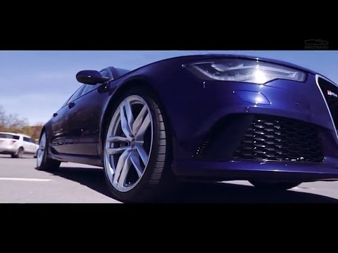 Test Drive by Davidich (with English subs). Audi RS6 Avant