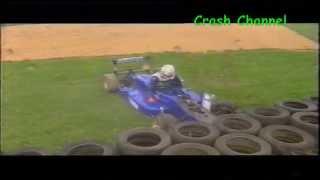 British F3 Various Crashes Snetterton 2002
