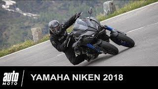 Yamaha NIKEN ESSAI POV du tricycle sportif Auto-Moto.com