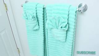 Watch me Clean & Revamp my Bathroom!!!!+ HOW I FOLD MY TOWELS!!