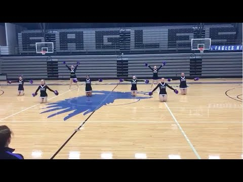 Kirkwood Community College Dance Team // State Preview // Pom