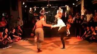 Paris SwingJammerz Festival 2014 - Nicolas Deniau & Mikaela Hellsten & Billy Collins quintet
