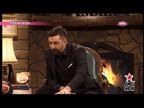 Andrija Milošević, Maca i Ognjen pricaju viceve - Ami G Show S07 - E21