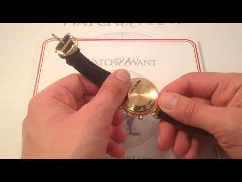 IWC DaVinci Perpetual Chronograph 3750-23 Luxury Watch Review