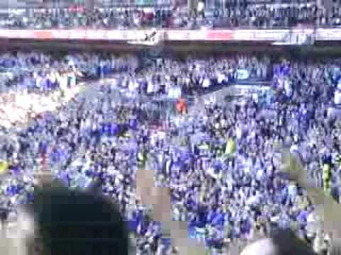 Everton fans Singing About Super KEV Campbell at home vs ...