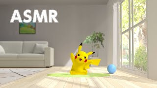 【公式】ASMR - おへやにピカチュウ Pikachu by the Patio