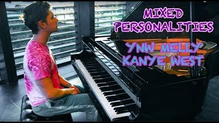 YNW Melly ft. Kanye West - Mixed Personalities | Tishler Piano Cover
