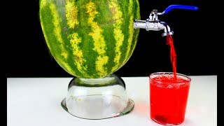 YOU MAY DO AṪ HOME 9 THE MOST HANDSHIPS (Simple Watermelon Hacks) 🍉