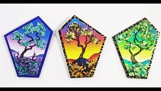 Painting with Polymer Clay, the Lone Tree
