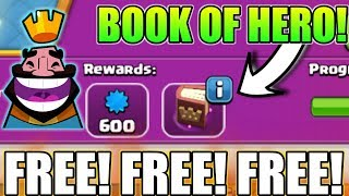 """HOW TO GET """"BOOK OF HERO"""" FREE IN CLASH OF CLANS? 