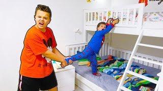 Егорка и Старший Брат Ярик НЕ Поделили Свою Кровать