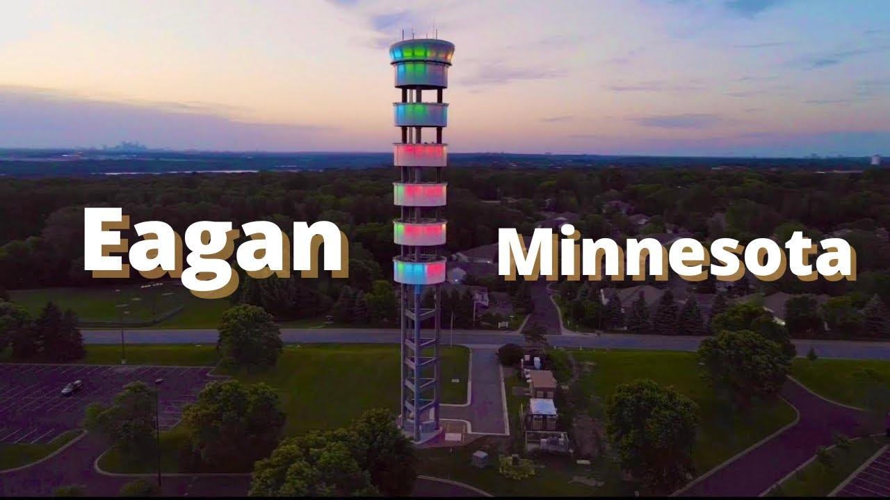 Download Highlights of Eagan, Minnesota | DRONE | Minnesota City Tour