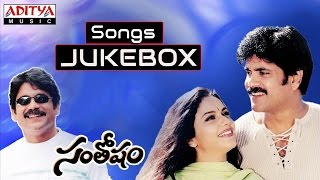 Santosham (సంతోషం) Telugu Movie Full Songs Jukebox || Nagarjuna,Shriya Saran,  Gracy Singh