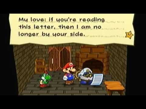Paper Mario: The Thousand Year Door- Reading of Scarlette's Letter Dub