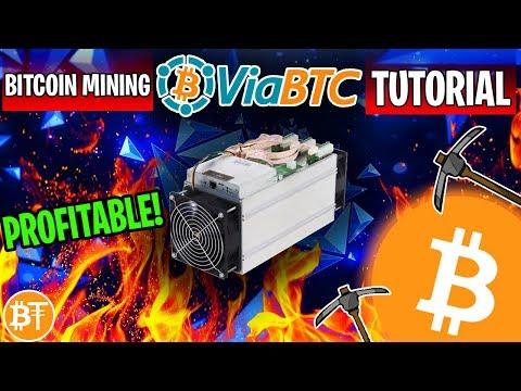 How To Start Mining On ViaBTC Mining Pool Review 2019