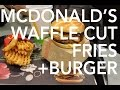 McDonald's  Waffle Cut Fries + Potato Rosti And Bacon Burger || Gastrofork.ca