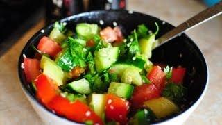 Fitness veggie salad