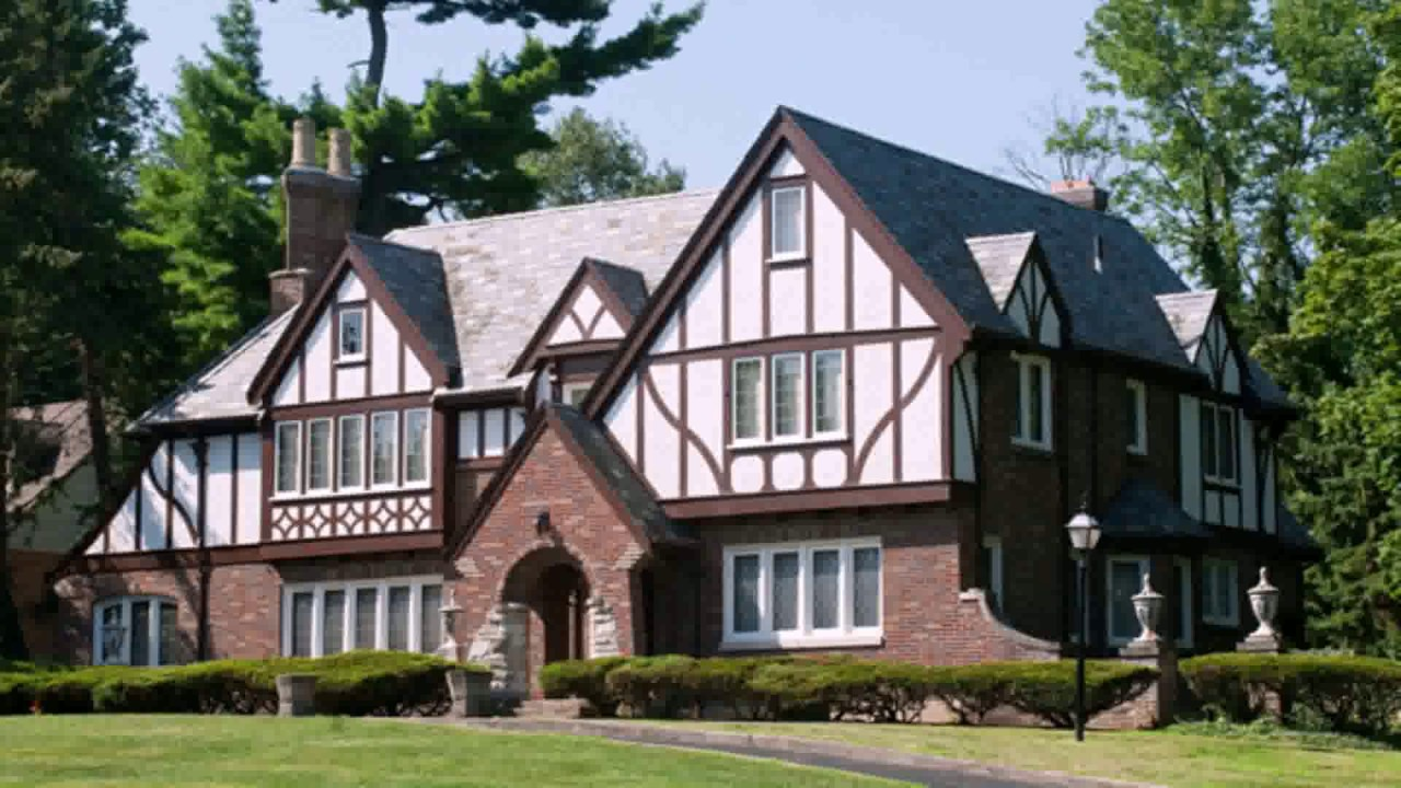 Neo tudor house style youtube for Tudor style house for sale