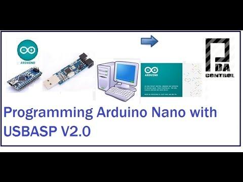 Programming Arduino Nano With V2.0 USBASP (ICSP): PDAControl