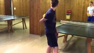FunnyPongTV - Ping Pong Trickshots / Крутые трюки с шариком от пинг понга