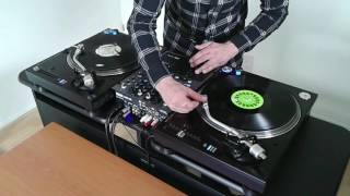 DJ Spictacular - Drumscratching needledropping