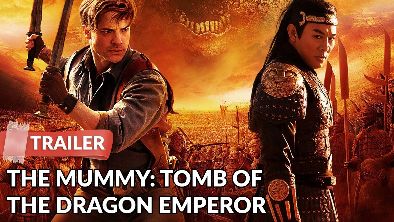 The Mummy Tomb Of The Dragon Emperor 2008 Trailer Hd Brendan Fraser Youtube